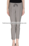 13. Grey Capri Dress Pants