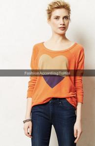 25. Heartblocked pullover