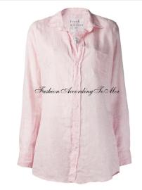 Pink collar top